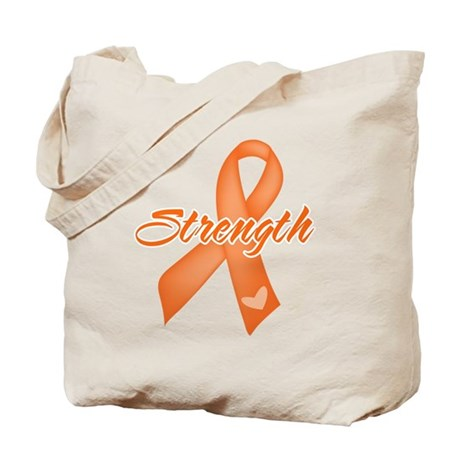 Strength Multiple Sclerosis Tote Bag