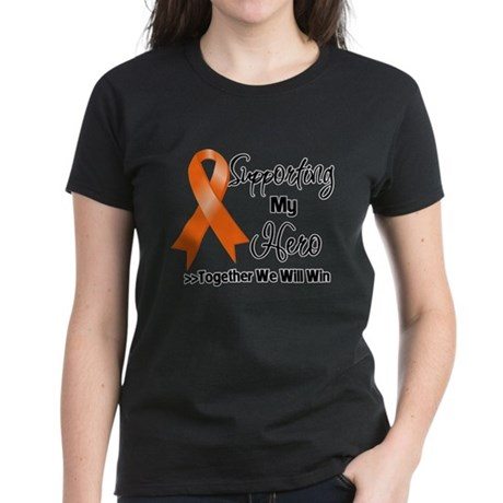Hero Multiple Sclerosis Women's Dark T-Shirt