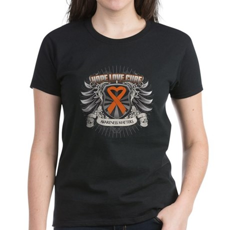 Heraldry Multiple Sclerosis Women's Dark T-Shirt