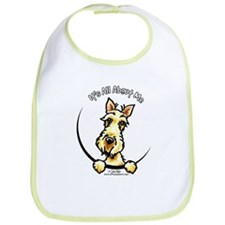 Wheaten Scottie IAAM Bib