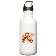 Hope Heart Multiple Sclerosis Water Bottle