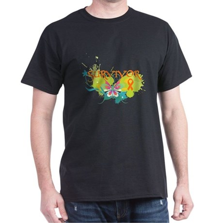 Butterfly Multiple Sclerosis Dark T-Shirt