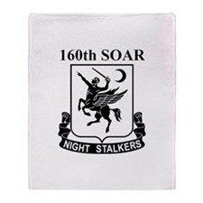 160th SOAR (2) Throw Blanket