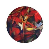 "The Fox by Franz Marc 3.5"" Button (100 pack)"