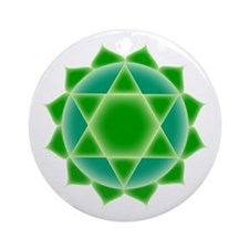 Fourth Chakra Ornament (Round)