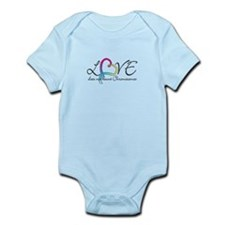 Love doesn't count Chromosome Infant Bodysuit