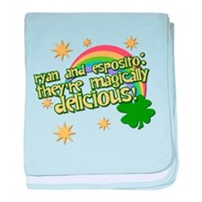 """They're Magically Delicious! baby blanket"