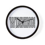 #WINNING! Wall Clock