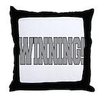 #WINNING! Throw Pillow