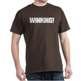 Charlie Sheen Winning Tee