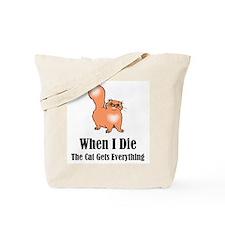 When I Die Tote Bag