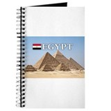 Giza Pyramids in Egypt Journal