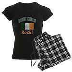 Irish Grils Rock Women's Dark Pajamas