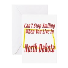 Can't Stop Smiling in ND Greeting Cards (Pk of 10)