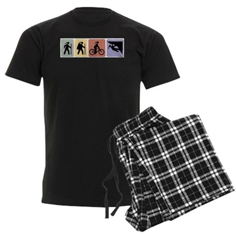 Multi Sport Gal Men's Dark Pajamas