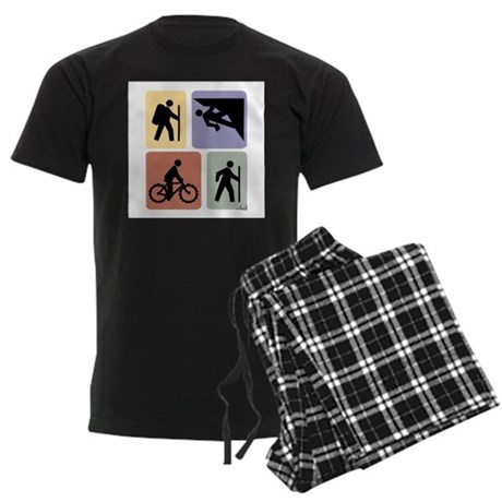 Multi Sport Guy Men's Dark Pajamas