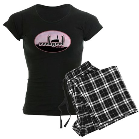 rockgrrl Women's Dark Pajamas