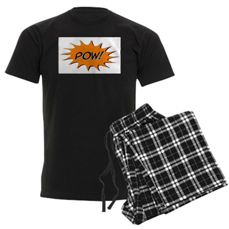 Pow! Men's Dark Pajamas