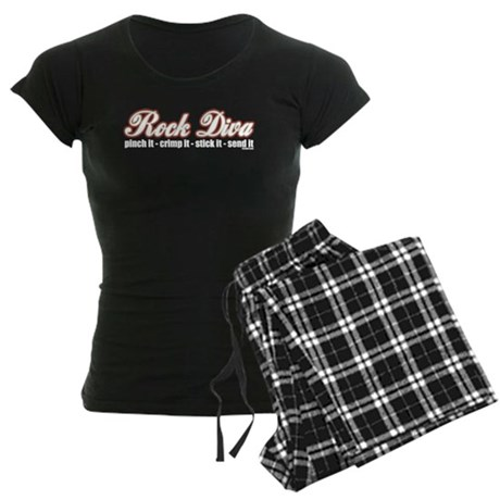 Rock Diva Women's Dark Pajamas