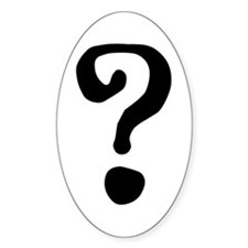 Question Mark Decal