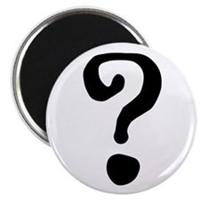 "Question Mark 2.25"" Magnet (10 pack)"