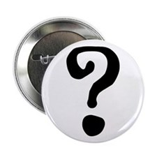 "Question Mark 2.25"" Button (10 pack)"