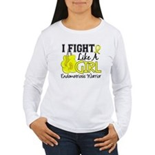 Fight Like A Girl Endometriosis T-Shirt