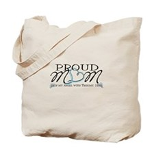 Proud T18 angel mom Tote Bag