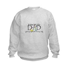 Proud T13 angel Dad Sweatshirt