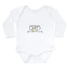 Proud T13 angel Dad Long Sleeve Infant Bodysuit