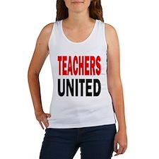 Teachers United: Women's Tank Top