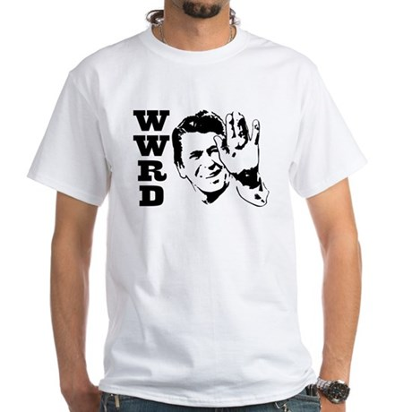 What Would Reagan Do White T-Shirt