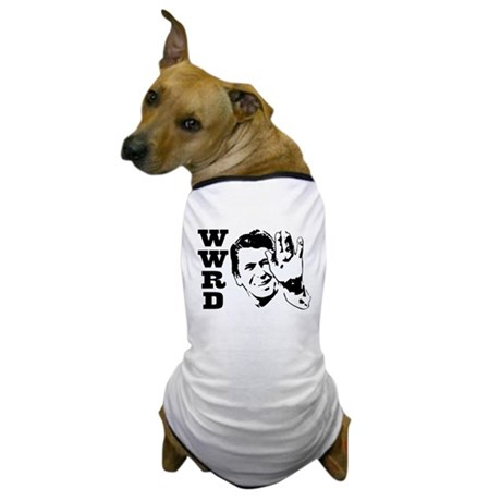 What Would Reagan Do Dog T-Shirt