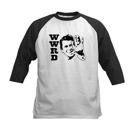 What Would Reagan Do Kids Baseball Jersey