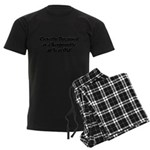 40th Birthday Men's Dark Pajamas