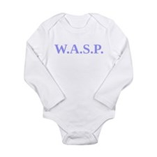 Unique White anglo saxon protestant Long Sleeve Infant Bodysuit