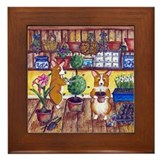 Potting Shed Framed Tile