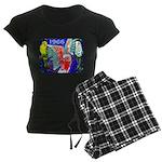 1966 Parrots Women's Dark Pajamas