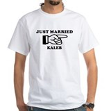 Just Married Kaleb Shirt