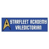 Starfleet Valedictorian (blue) Bumper Sticker