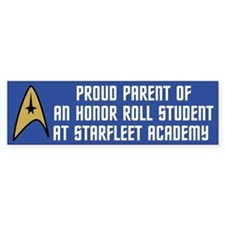 Proud Parent (blue) Bumper Sticker