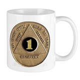 1 YEAR COIN Coffee Mug