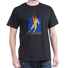 Dodgeball Black T-Shirt