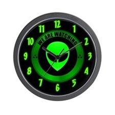 Good Alien Wall Clock