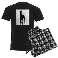 Great Dane Silhouette Pajamas
