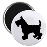 Scottish Terrier Silhouette Magnet