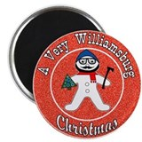 A Very Williamsburg Christmas Magnet