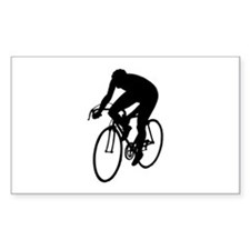 Cycling Silhouette Decal