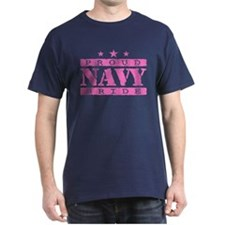 Proud Navy Bride T-Shirt