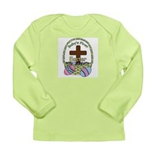 Baby's First Easter (Basket) Long Sleeve Infant T-